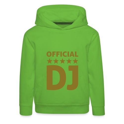 official DJ  t-shirt - Kids' Premium Hoodie