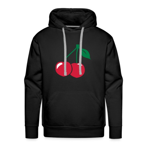 sweat cherry - Sweat-shirt à capuche Premium pour hommes