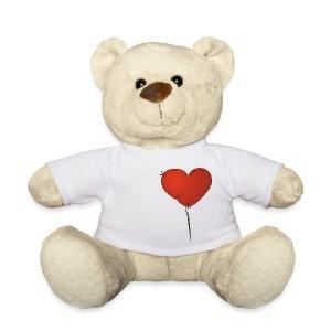 Osito tedy corazon teddy amar love heart  - Osito de peluche