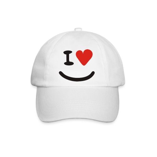 Kappe Love Smiley - Baseballkappe