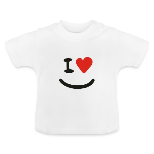 I Love Baby Smiley - Baby T-Shirt