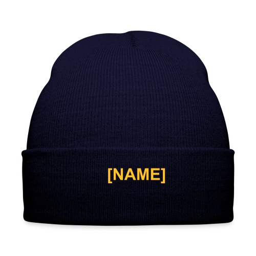 Winter Hat - This warm winter hat will definitely keep you warm and let the world know your name too!