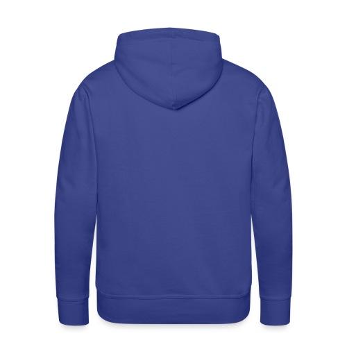 Männer Kapuzenpullover blau - Männer Premium Hoodie