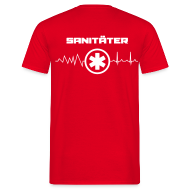 T-Shirts ~ Männer T-Shirt ~ Sanitäter T-Shirt