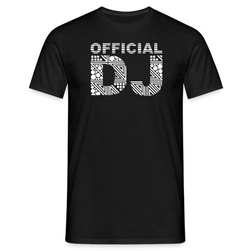 Official Dj - Maglietta da uomo
