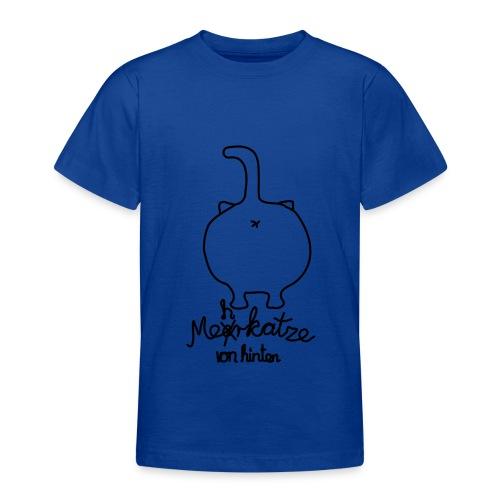 Mehrkatze von hinten - Teenager T-Shirt