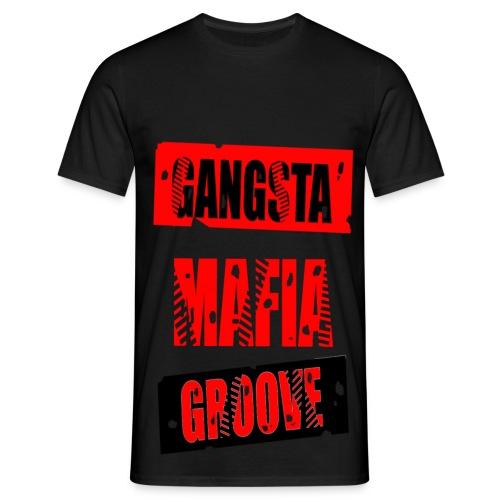 T shirt homme gangsta mafia groove - T-shirt Homme