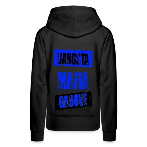 Sweat-shirt à capuche femme gangsta mafia groove - Sweat-shirt à capuche Premium pour femmes