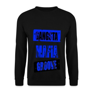 Sweat-shirt homme gangsta mafia groove - Sweat-shirt Homme