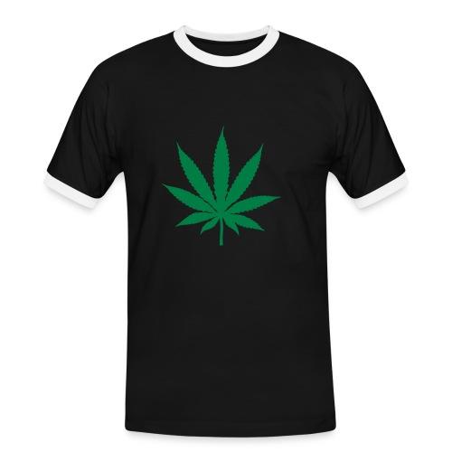 Canabiseta 1 - Camiseta contraste hombre