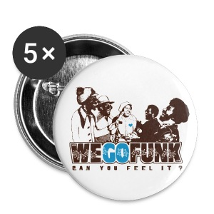 Badge Wegofunk 3cm - Badge moyen 32 mm