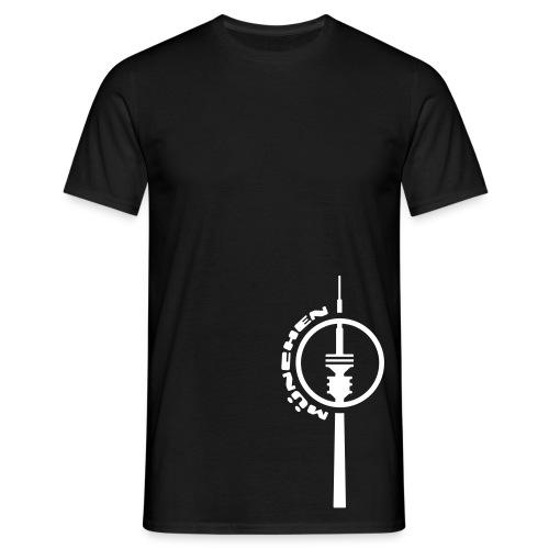 München Fernsehturm T-Shirt - Männer T-Shirt