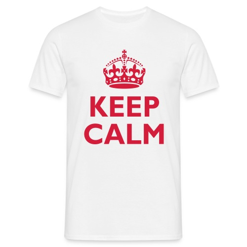 Keep Calm - XL - 3XL - Men's T-Shirt