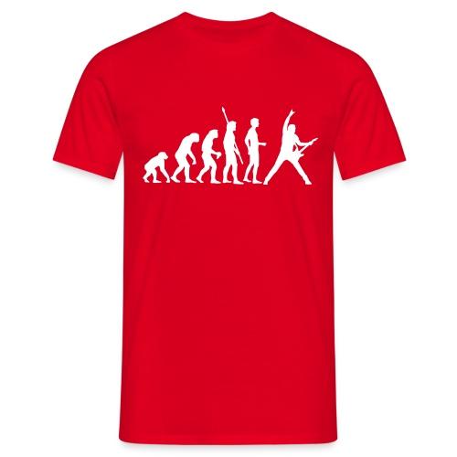 Music Evolution - XL - 3XL - Men's T-Shirt