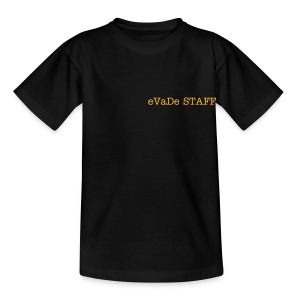 eVaDe staff shirt - Teenage T-shirt