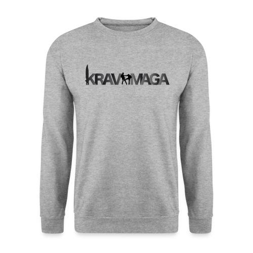 Sweat-shirt Krav Maga Homme Gris - Sweat-shirt Homme