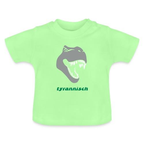 tier shirt tyrannosaurus rex tyrann tyrannisch t-rex trex dino dinosaurier jurassic - Baby T-Shirt