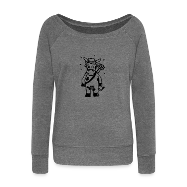 Cow cowboy with a guitar Hoodies & Sweatshirts