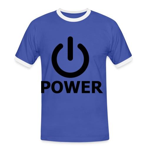 Mens Power Shirt - Men's Ringer Shirt