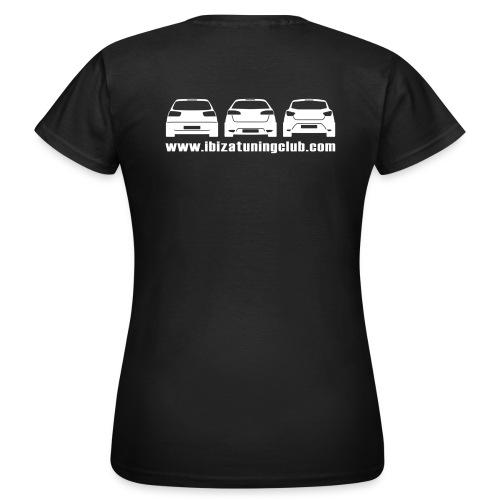 T-Shirt ITC 4 Emotion AUTO BIANCHE DONNA - Maglietta da donna