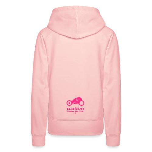 60' POP - Hoodie - Sweat-shirt à capuche Premium pour femmes