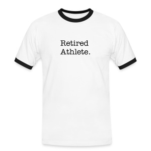 Retired Athlete - Men's Ringer Shirt