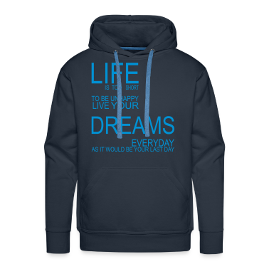 LIFE is too short Pullover