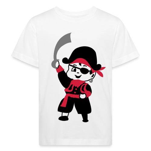 shirtje 'retro piraat' - Kinderen Bio-T-shirt