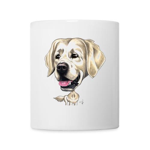 Mug funny golden retriever - Mug blanc