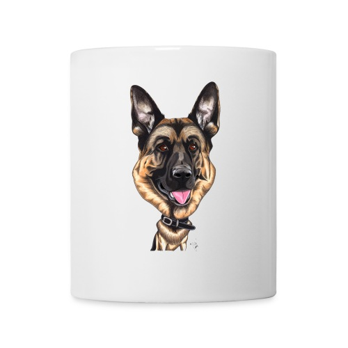 Mug funny berger allemand - Mug blanc