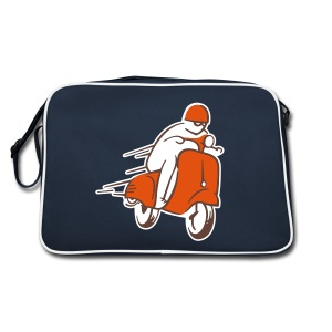 SCOOTER RACER BAG - Sac Retro