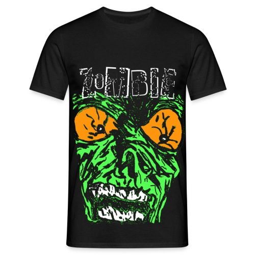 T shirt homme zombie - T-shirt Homme