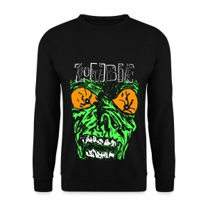 Sweat-shirt homme zombie - Sweat-shirt Homme