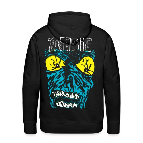 Sweat-shirt à capuche homme zombie - Sweat-shirt à capuche Premium pour hommes