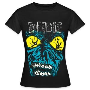 T shirt femme zombie - T-shirt Femme