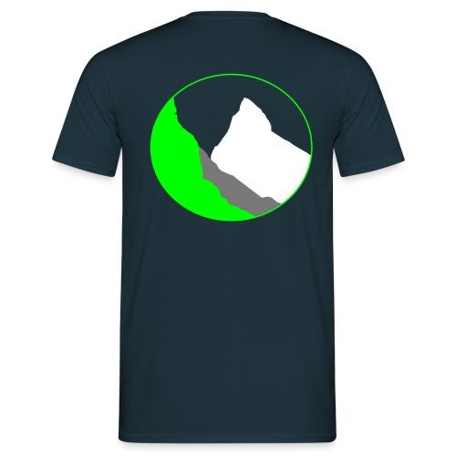 Backsidelogo - Männer T-Shirt