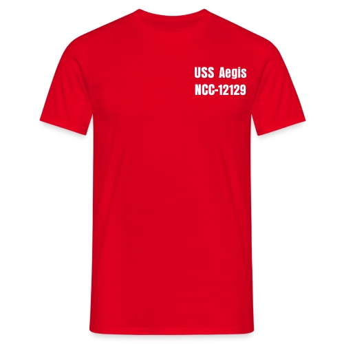 USS Aegis Command T-Shirt - Men's T-Shirt