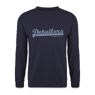 Hoodies & Sweatshirts ~ Men's Sweatshirt ~ Detailing World Fleece Sweater (Metallic Logo)