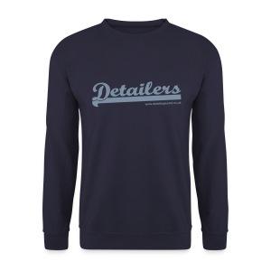 Detailing World Fleece Sweater (Metallic Logo) - Men's Sweatshirt