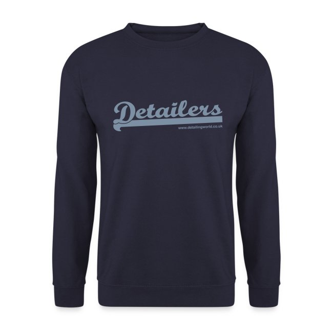 Detailing World Fleece Sweater (Metallic Logo)
