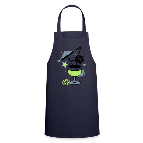 Cooking with summer shots.. - Cooking Apron