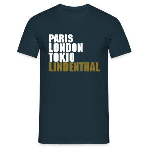 City Lights Lindenthal -navy- - Männer T-Shirt