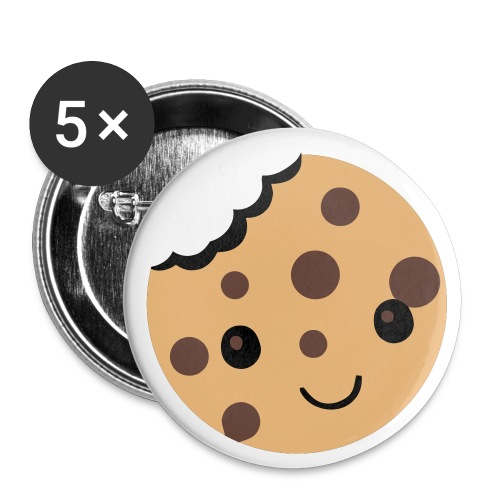 Cookie Button - Buttons small 1''/25 mm (5-pack)