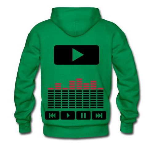 official dj - Sweat-shirt à capuche Premium pour hommes