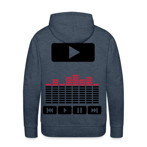 official dj - Sweat-shirt à capuche Premium pour hommes
