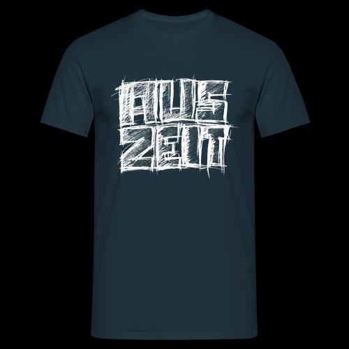 Auszeit weiß - Männer T-Shirt