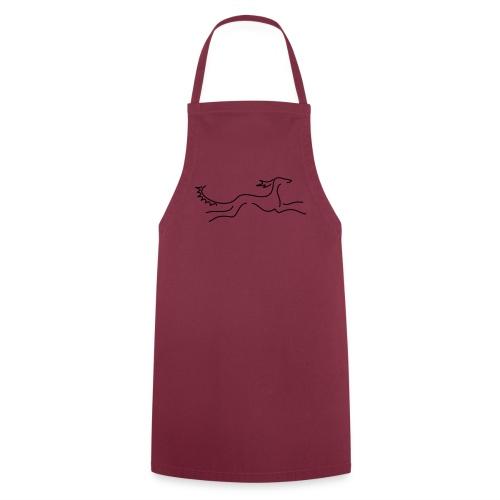 Saluki - Kochschürze