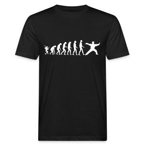 Tai Chi Evolution - Männer Bio-T-Shirt