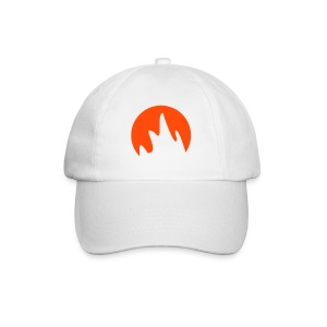 Caps (Flammer i neon oransje) - Baseball Cap