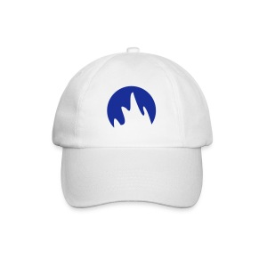Caps (Flammer i blått) - Baseball Cap